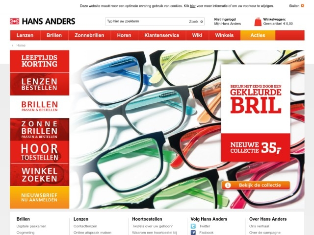 a3733a6dcd5e9e Hans Anders Opticiens Bergen op Zoom